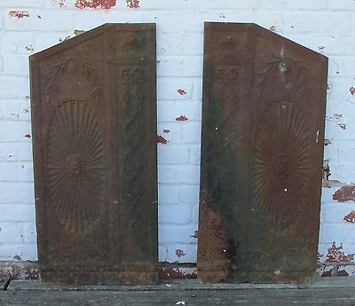 Antique 1840's Vintage Fire Place Surround - Fire Place sides