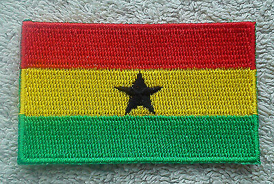 BOLIVIA FLAG PATCH Embroidered Badge Iron or Sew on 3.8cm x 6cm South America