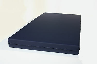 "Medical Hospital Community Mattress PU Breathable Cover Zipped 78"" x 36"" x 5"""