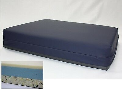 Bariatric Memory Foam Cushion. High Risk. Waterproof. Wheelchair Cushion