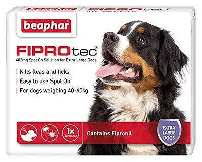 Beaphar FIPROtec Pipette for Extra Large Dog 1 Treatment Pack