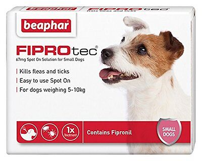 Beaphar FIPROtec Pipette for Small Dog 1 Treatment Pack