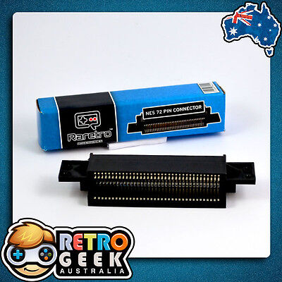 New - HQ 72 Pin Replacement Game Connector for NES Console - Nintendo System