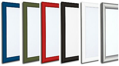 A4 Snap Frames Picture Poster Holders Clip Displays Retail Wall Notice Boards
