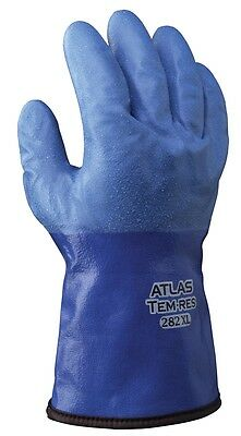 Showa® Atlas™ 282 TEMRES Insulated Gloves, Waterproof/Breathable, 1 Pair