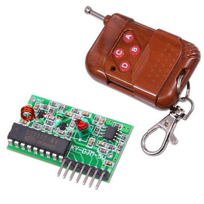 4 Channel 315Mhz RF Wireless Remote Control Module Transmitter + Receiver