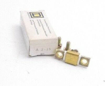 SQUARE D Part #A 2.15 Overload Relay Thermal Unit - Prepaid Shipping