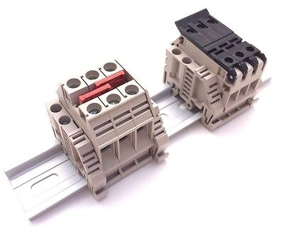 Solar Combiner Box Dinkle 3 Fused 10 AWG Positive Inputs Outputs 6 AWG 36A 600V