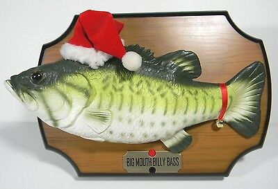 Billy bass christmas gift inflatable fish fishing for Big mouth billy bass singing fish