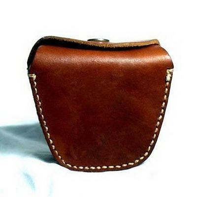 1970's NOS US UK Army Military Leather Bag Case Ammo Pouch for Hunting Fishing