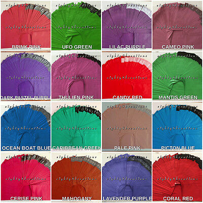 MIXED LOT of Colors 6x9 Flat Poly Mailers Shipping Postal Package Envelopes Bags