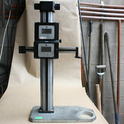Trimos Sylvac system TPR-X101-Z301 2 axis x-y precision micrometer 0.001mm res