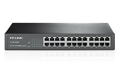 SWITCH DESKTOP TP-LINK 10/100Mbps 24 PORTE TL-SF1024 RJ45