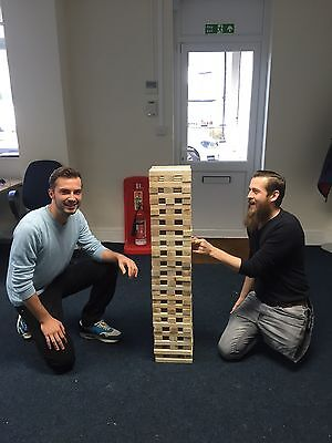 Massive Giant Jenga. 2 x Wooden Giant Jenga's Together for Ultimate Tower NEW