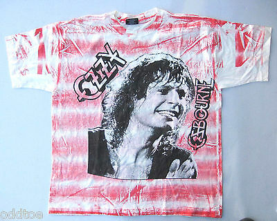 "OZZY OSBOURNE T-Shirt Rare Vintage 1992 ""No More Tours"" North American Tour"