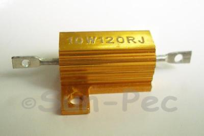 10W Wirewound resistor +-5% 0.1-82 Ohm various 1-2pcs options