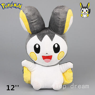 New Pokemon Emolga Emonga Soft Plush Toy Stuffed Doll 30cm 12'' Teddy Kids Gift