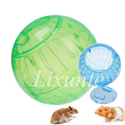 Hot Cute Rodent Mice Hamster Jogging Exercise Ball Rat Play Pet Toy Educated LXT