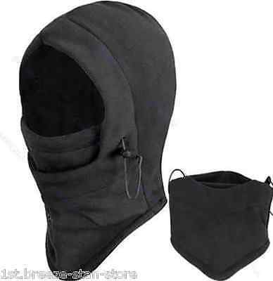 Multifunction winter WARMER SCARF neck &mask ski  MOTOR bike unisex POLAR Fleece