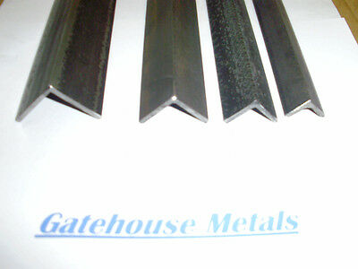 MILD STEEL ANGLE IRON 20mm x 20mm x 3mm - VALUE BUNDLES - OTHER SIZES AND TYPES