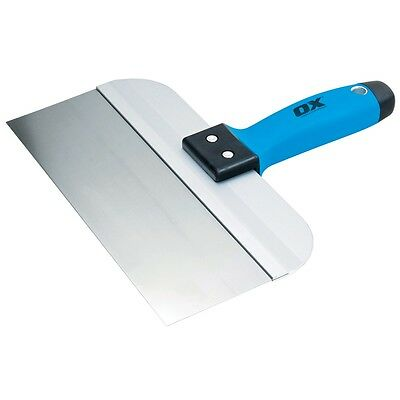 OX Pro Stainless Steel Taping Knife Filling Drywall Plastering Spatula