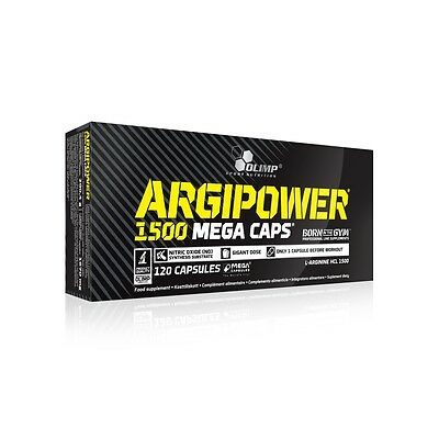 OLIMP ARGI POWER Mega Caps 1500 mg - 120 Kapseln Halal  L-ARGININ NITRIX OXID