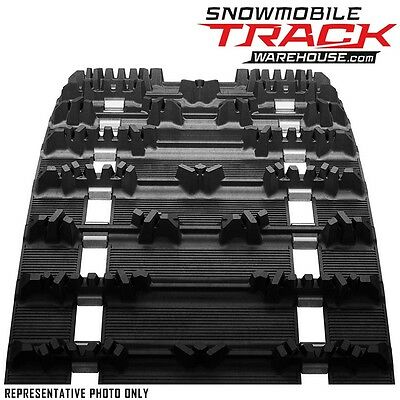 """CAMOPLAST RIPSAW Snowmobile Track 15x121x1.25"""" Lug Fully Clipped, 9968H"""