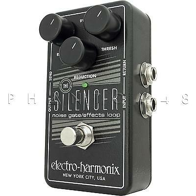 Electro-Harmonix Silencer Noise Gate Suppressor Guitar Effects Pedal EHX - NEW