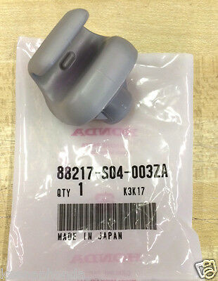 Genuine OEM Honda Gray Sunvisor Clip - One (1)