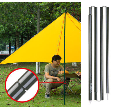 2*2m Aluminium Alloy Canopy Porch Tent Upright Poles for Tarp Tent Cover Awning