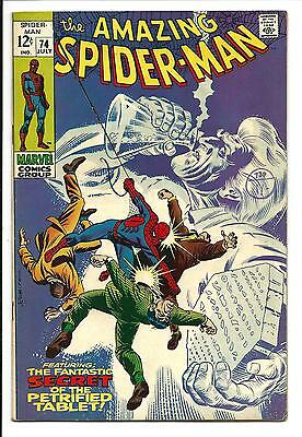 Amazing Spider-Man # 74 (July 1969), Fn+
