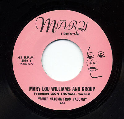 Mary Lou Williams - You Know Baby - Chief Natoma From Tacoma 7inch, 45rpm - S...