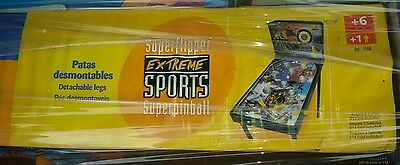 SUPERFLIPPER EXTREME SPORTS Super Flipper Pinball Vintage Game & Watch Hand Toy