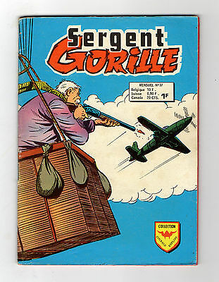 ►Sergent Gorille  N°37 - Le Secret De Grand-Pere  -  Aredit 1974  - Be