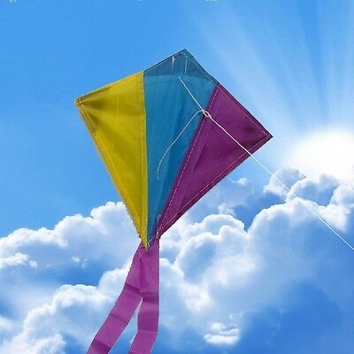 NEW ALFA  MINI DIAMOND KITE single line kite 30 x 30cm,Great for small children