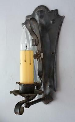 1920's Sconce Light Fits Spanish Revival Gothic Mission Tuscan Monterey (6770)