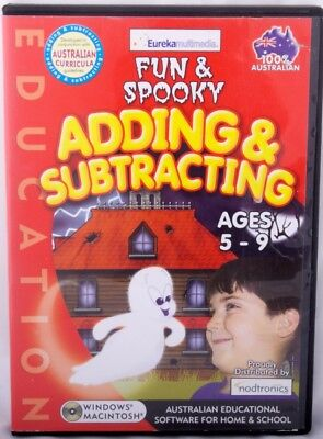 Adding & Subtracting Maths Education Windows 7 PC Game Age 4-8+ Logic Memory Sum