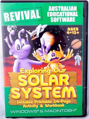 Logic Concentration Memory Education Windows 7 PC Game Age 4-12 Solar System Fun