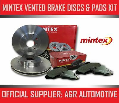 MINTEX FRONT DISCS AND PADS 288mm FOR AUDI A3 (8P) 2.0 TD 140 BHP 2009-13