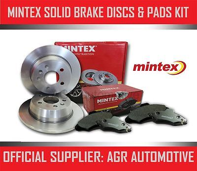 MINTEX FRONT DISCS AND PADS 284mm FOR MERCEDES-BENZ W124 250 TD ESTATE 1985-93