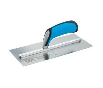 OX PRO Plastering Finishing TROWEL STAINLESS STEEL Blade Spatula - All Sizes