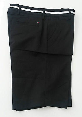Genuine Tommy Hilfiger Bermuda Womens Golf Shorts Black Arielle - Size 10 (US 6)