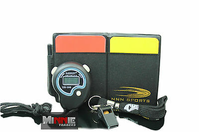 referee card set + Stopwatch + Acme lanyard + whistle