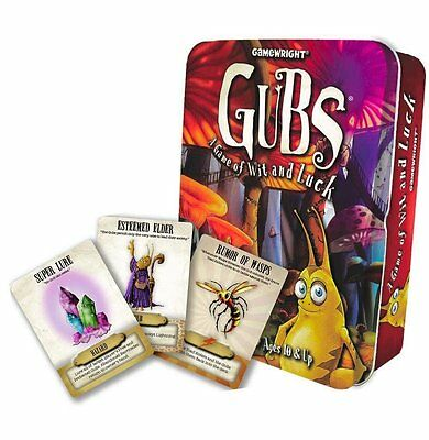 Gubs: Card Game by Gamewright -Ages 10+ 2-6 players