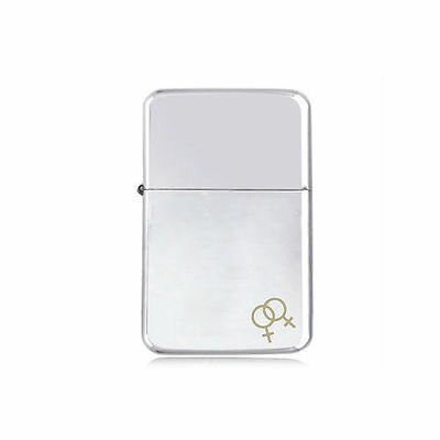 *STAR* GAY GIRL girls engraved LIGHTER silver pink gold Lesbian LGBT rights