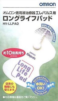 OMRON E4 E3 HV-LLPAD Elepuls Pad replacement original Made in Japan (2 pads)