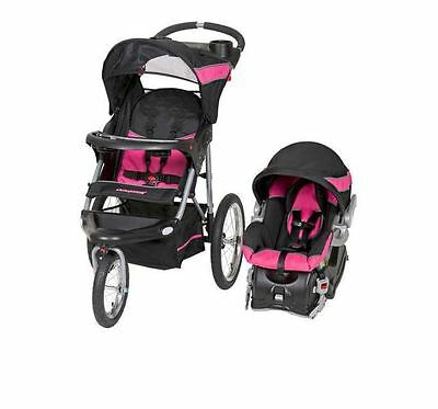 Travel System Recline Stroller Baby Fold Infant Car Seat Toddler ...