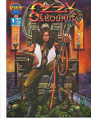 Ozzy Osbourne Comic - December 1993 - 7.0 Fine/Very Fine, High Resolution Scans!