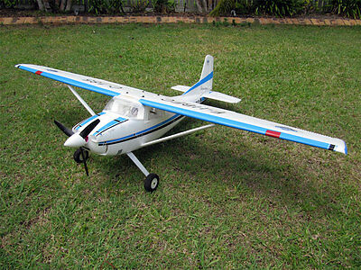 CESSNA 185 RTF  RC SKYWAGON PLANE TRAINER 1500mm WING SPAN, FLAPS