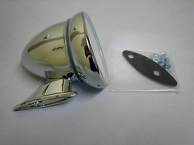222-350 Gam105 Mg Mgb Chrome Bullet Mirror Chrome New